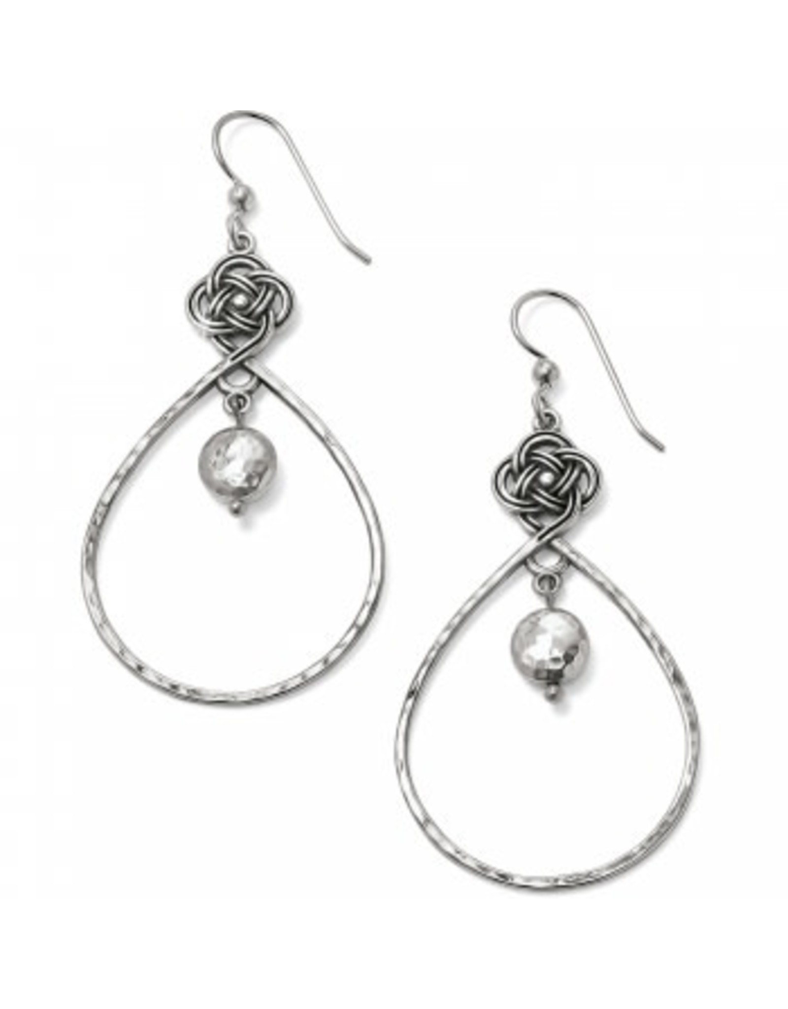 Brighton Interlok Knot Loop French Wire Earrings