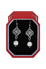 Brighton Interlok Knot French Wire Earrings Gift Box