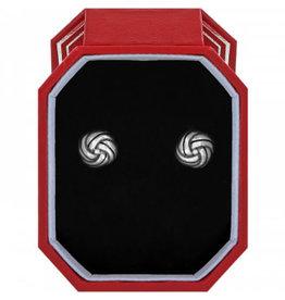Brighton Interlok Knot Post Earrings Gift Box