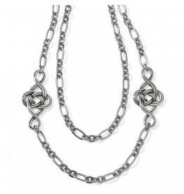 Brighton Interlok Knot Layer Necklace