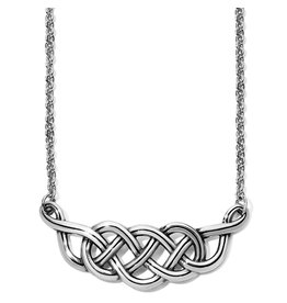 Brighton Interlok Braid Collar Necklace