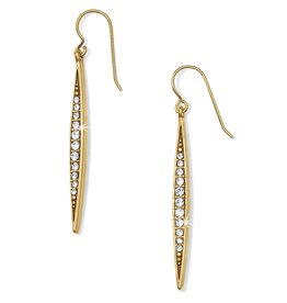 Brighton Contempo Ice French Earrings Gold
