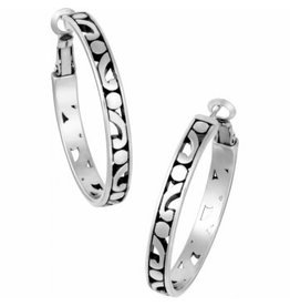 Brighton Contempo Medium Hoop Earrings