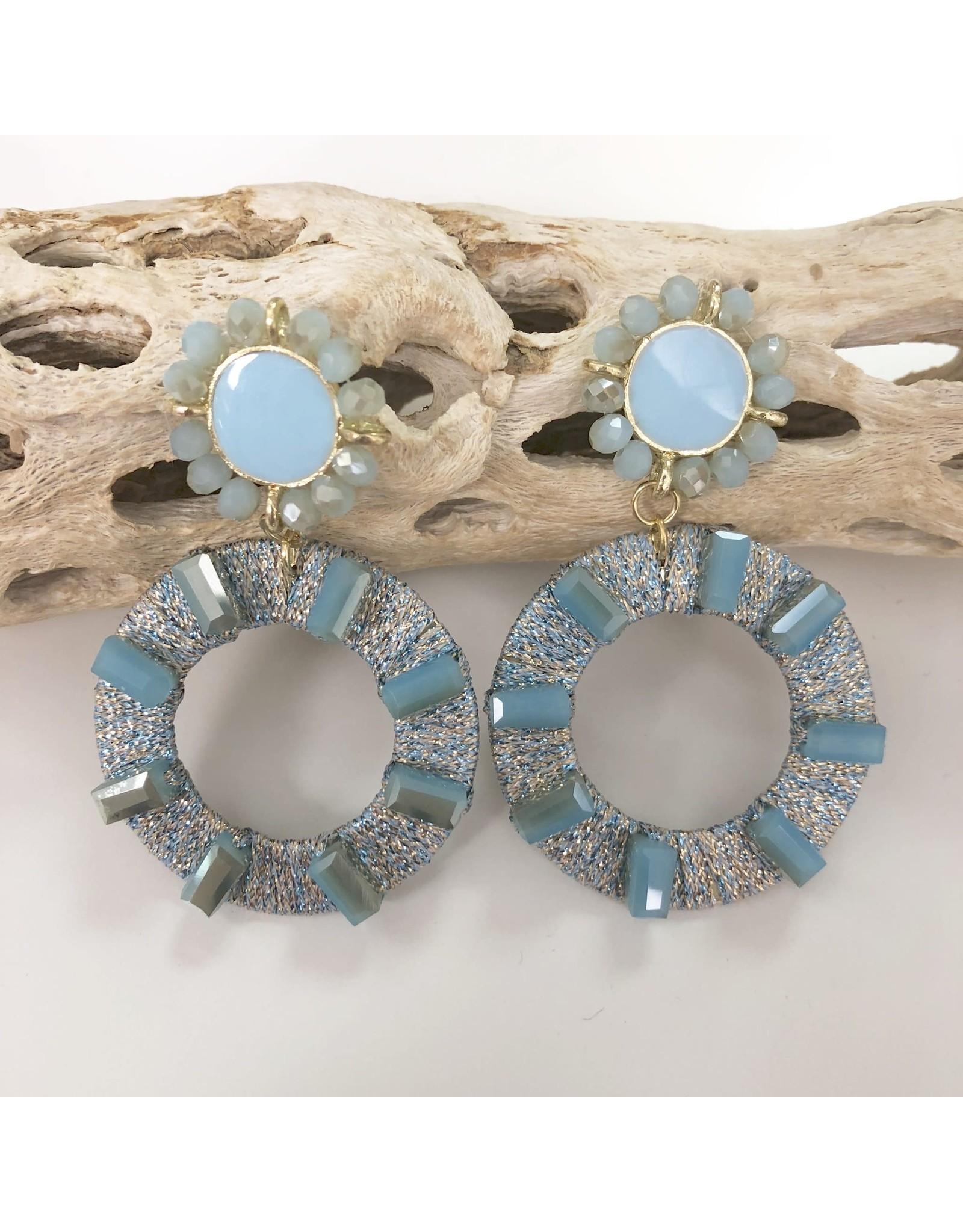 Treasure Jewels Earring Catalina Blue