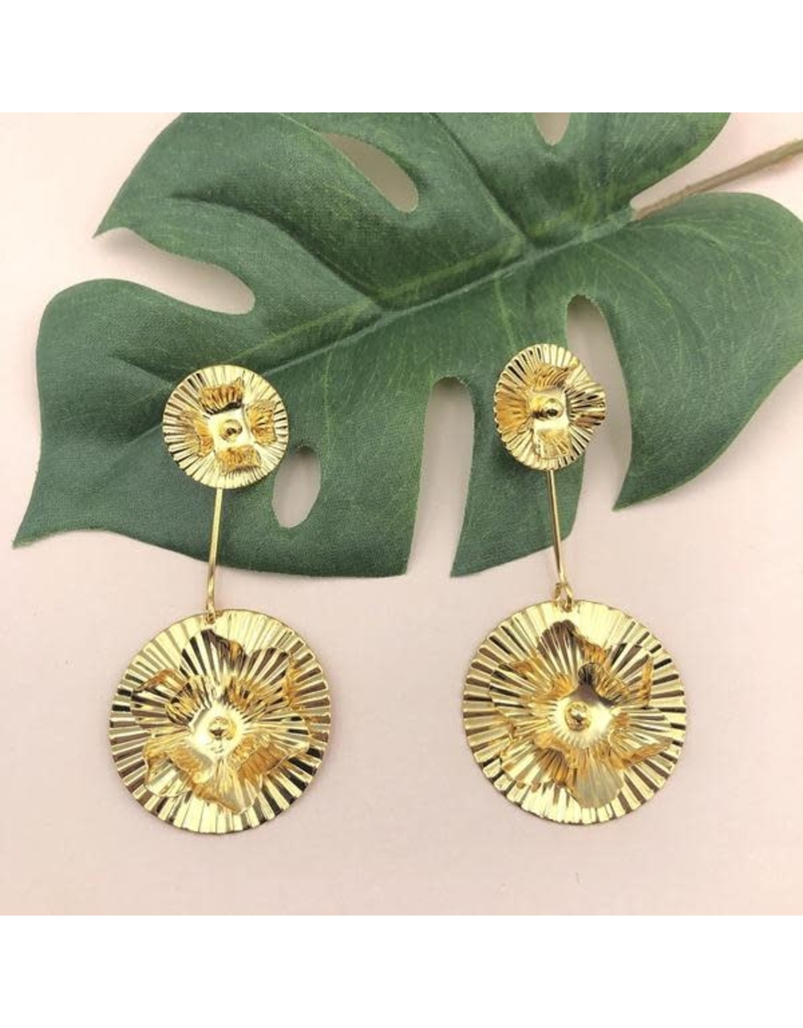 Treasure Jewels Earring Double Flor