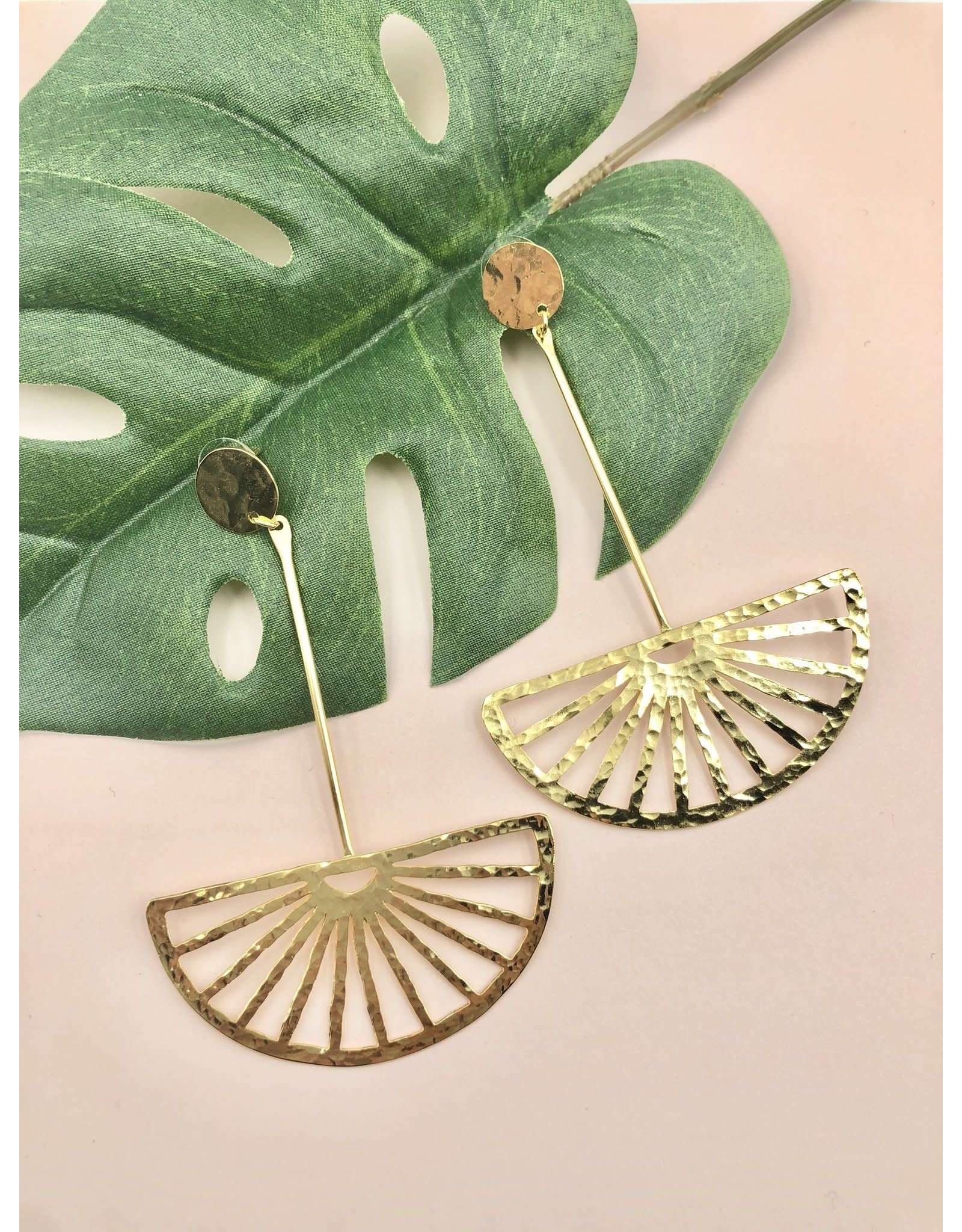 Treasure Jewels Earring Dangling Basket