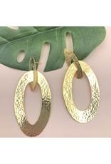 Treasure Jewels Earring Double Oval
