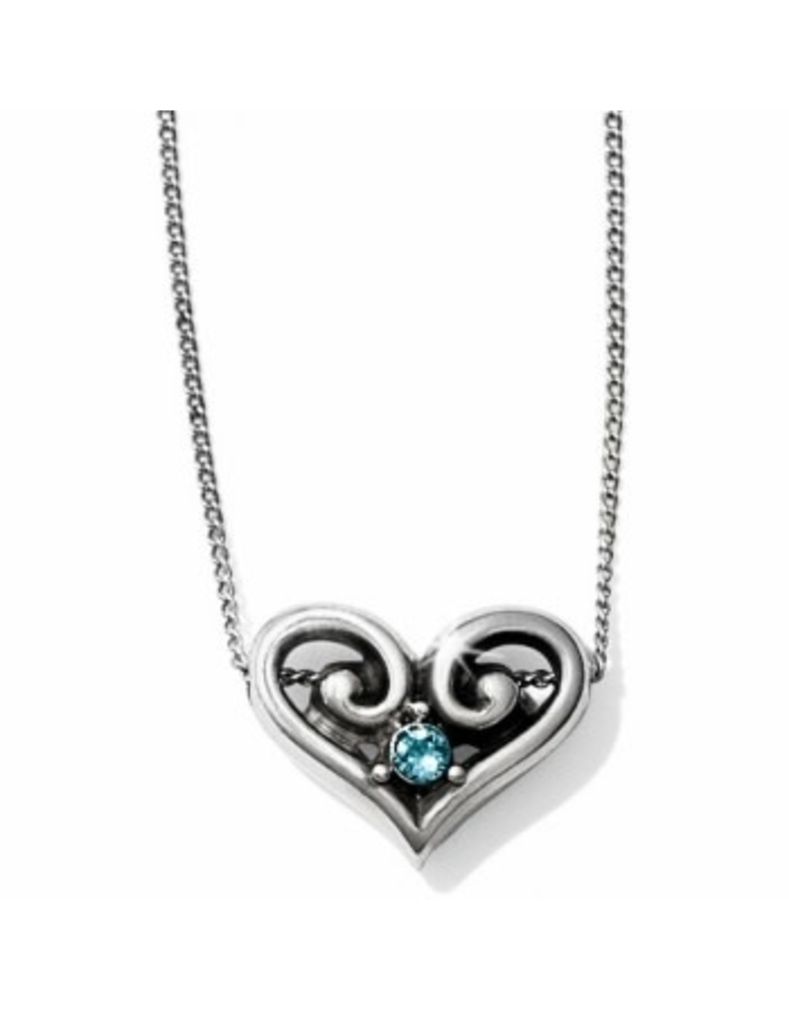 Brighton Alcazar Heart Crystal Necklace