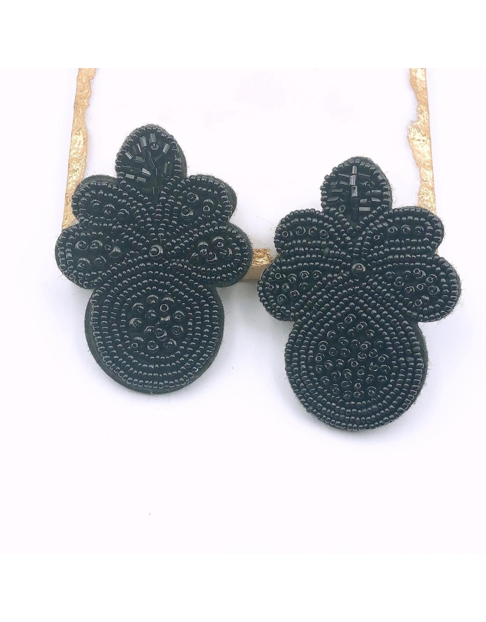 Treasure Jewels Earring Carly Black