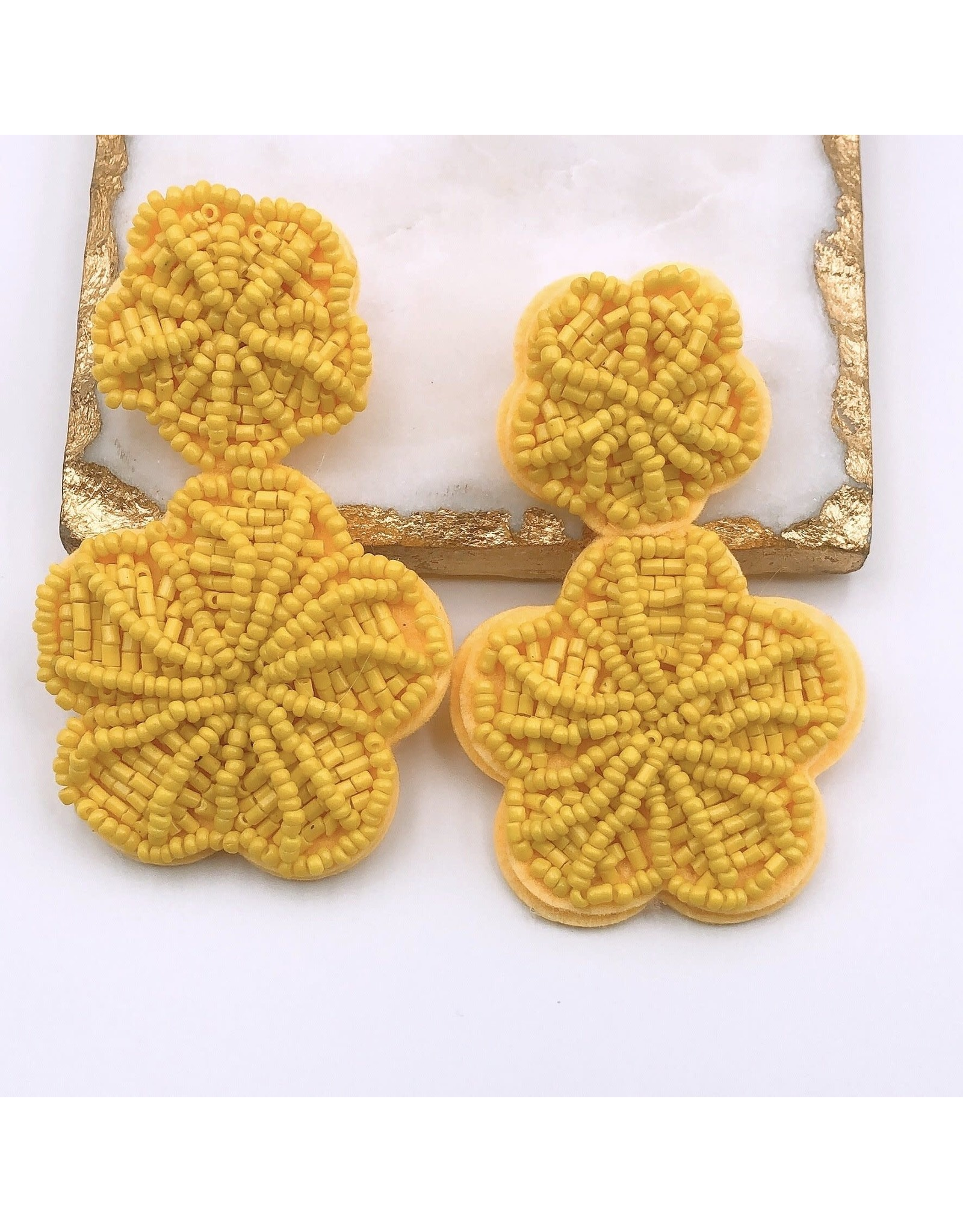 Treasure Jewels Earring Rosita Yellow