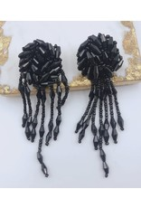 Treasure Jewels Earring Avery Black