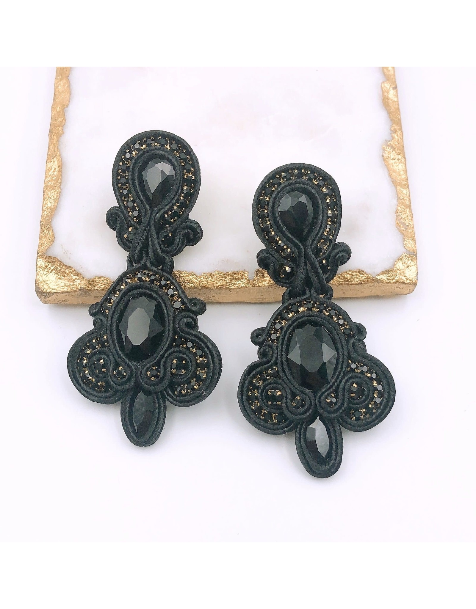 Treasure Jewels Earring Hannah Black