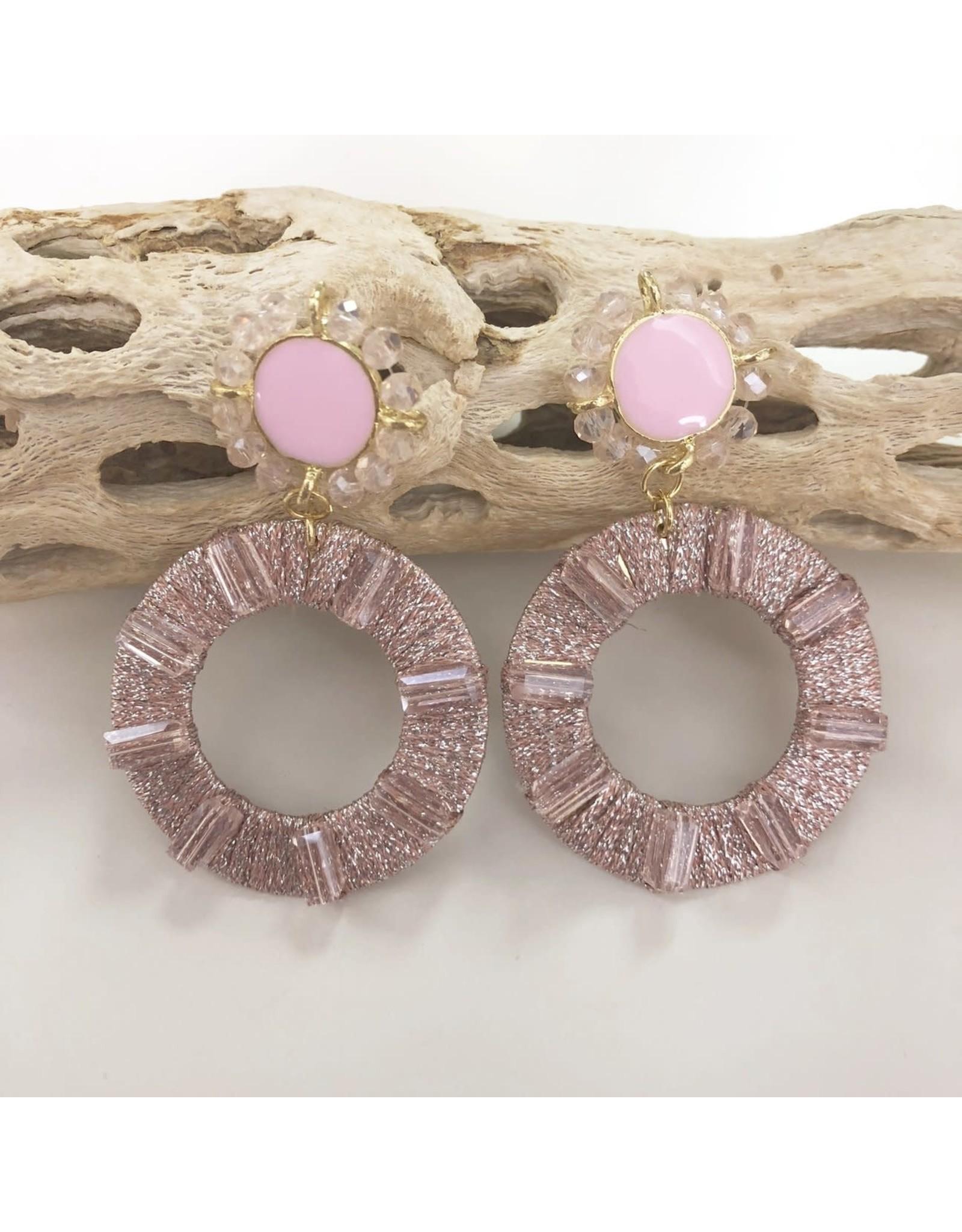 Treasure Jewels Earring Catalina Pink