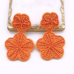 Treasure Jewels Earring Rosita Orange