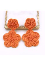 Treasure Jewels Earring Rosita Orange
