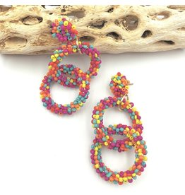 Treasure Jewels Earring Eliza Multi