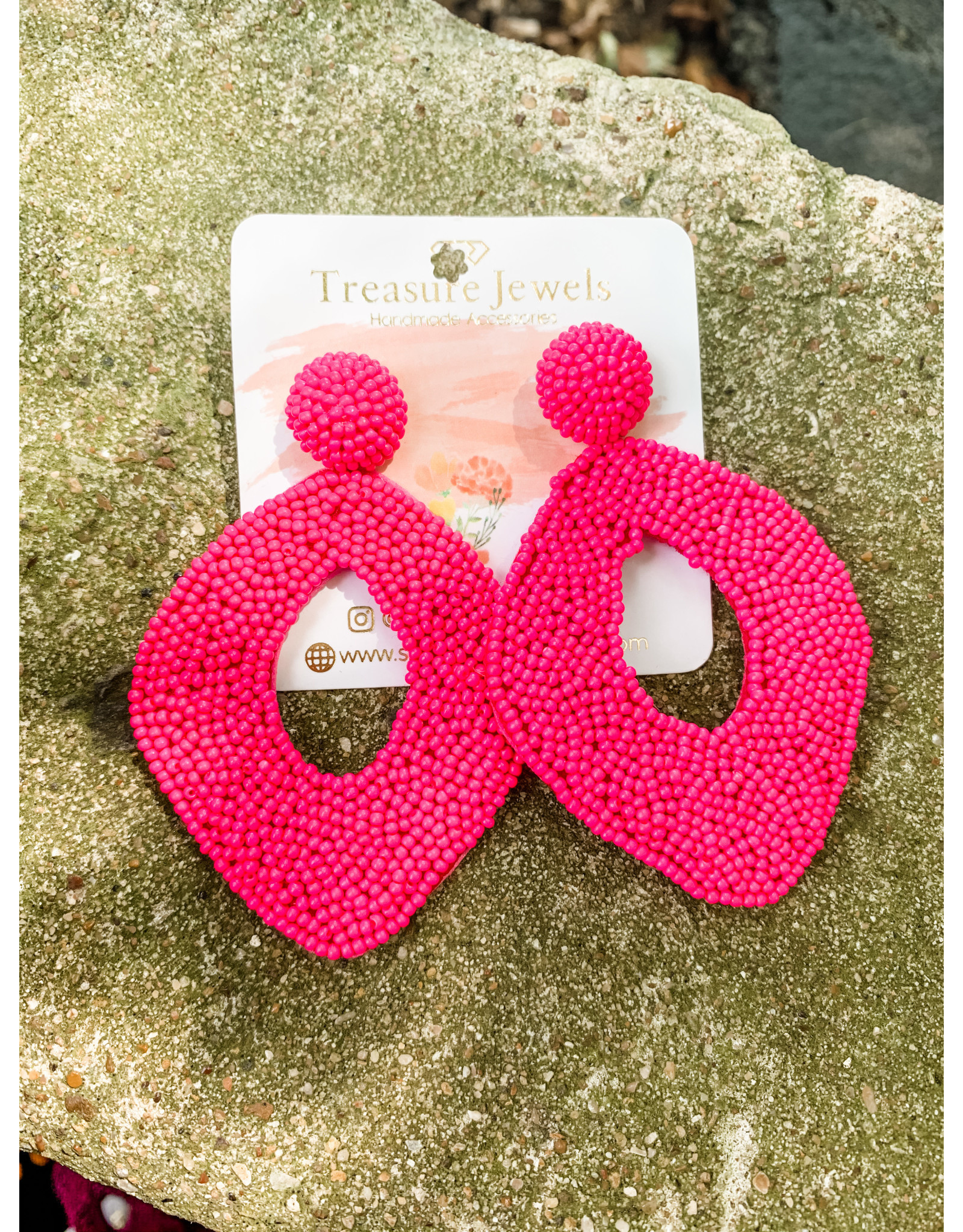 Treasure Jewels Earring Karen Pink