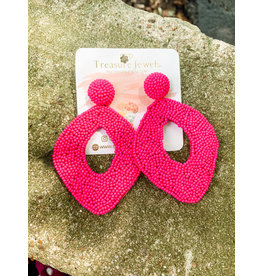 Treasure Jewels Earring Karen Pink