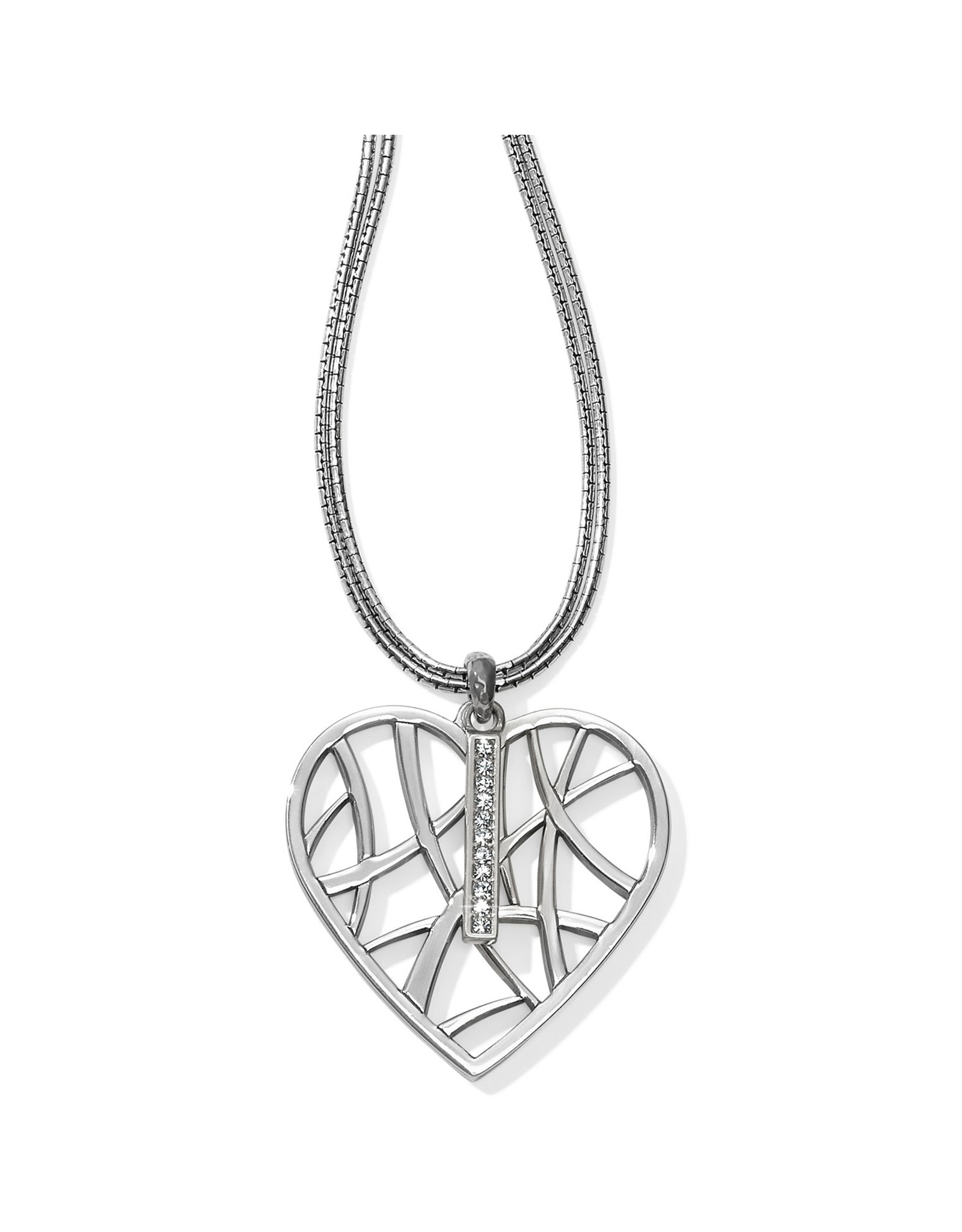 Brighton Meridian Zenith Convertible Heart Necklace