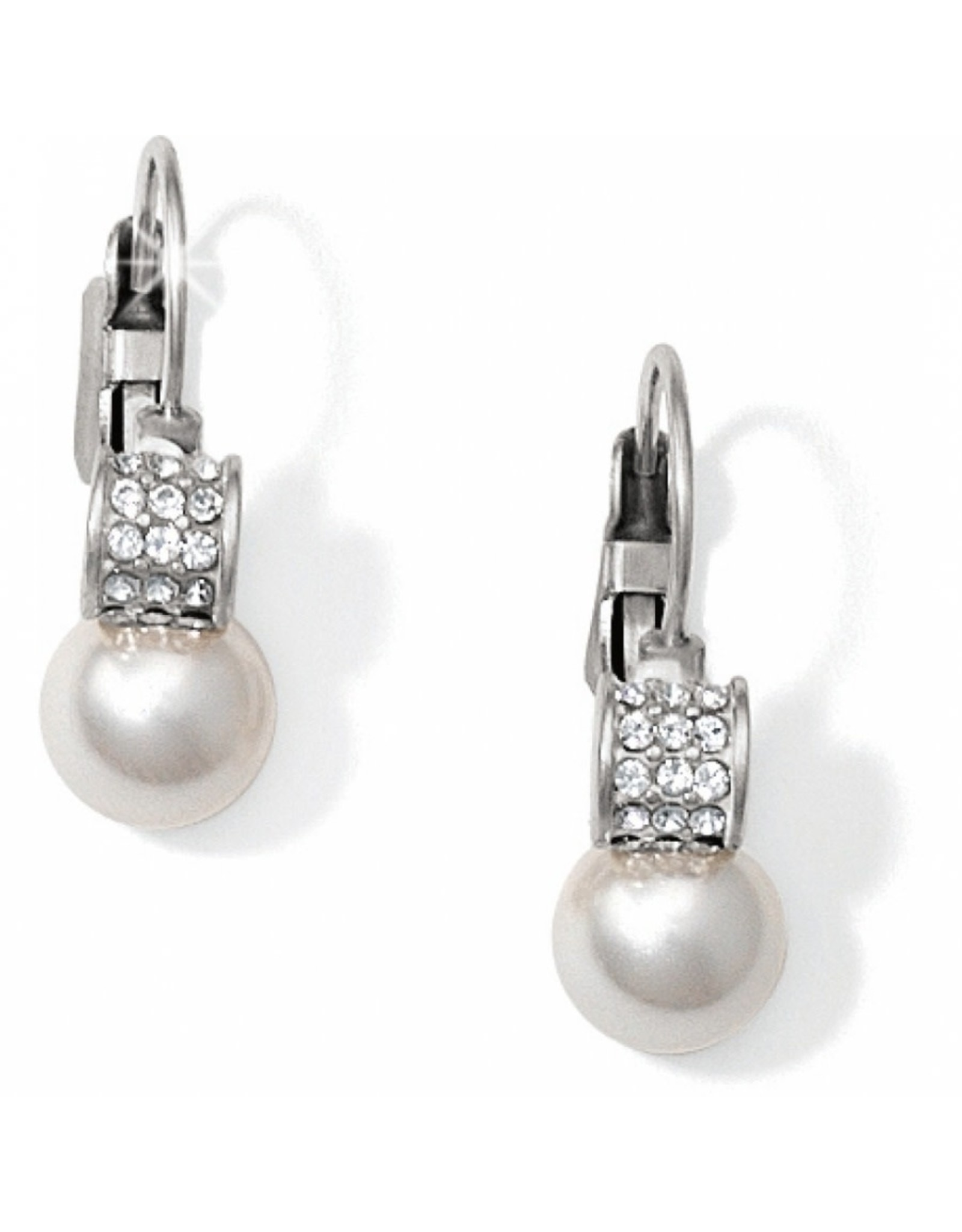 Brighton Meridian Petite Pearl Leverback Earrings