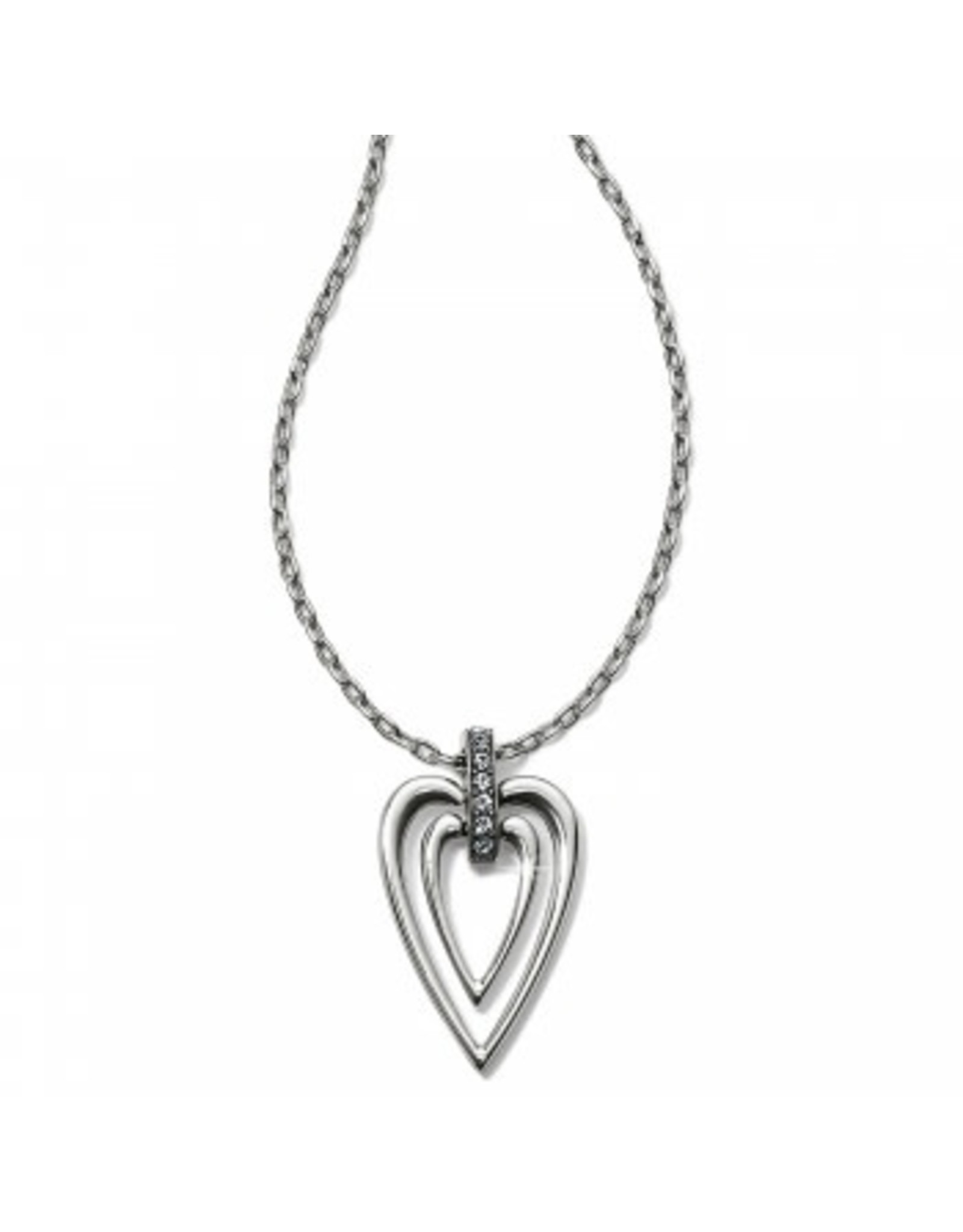 Brighton Meridian Swing Petite Heart Necklace