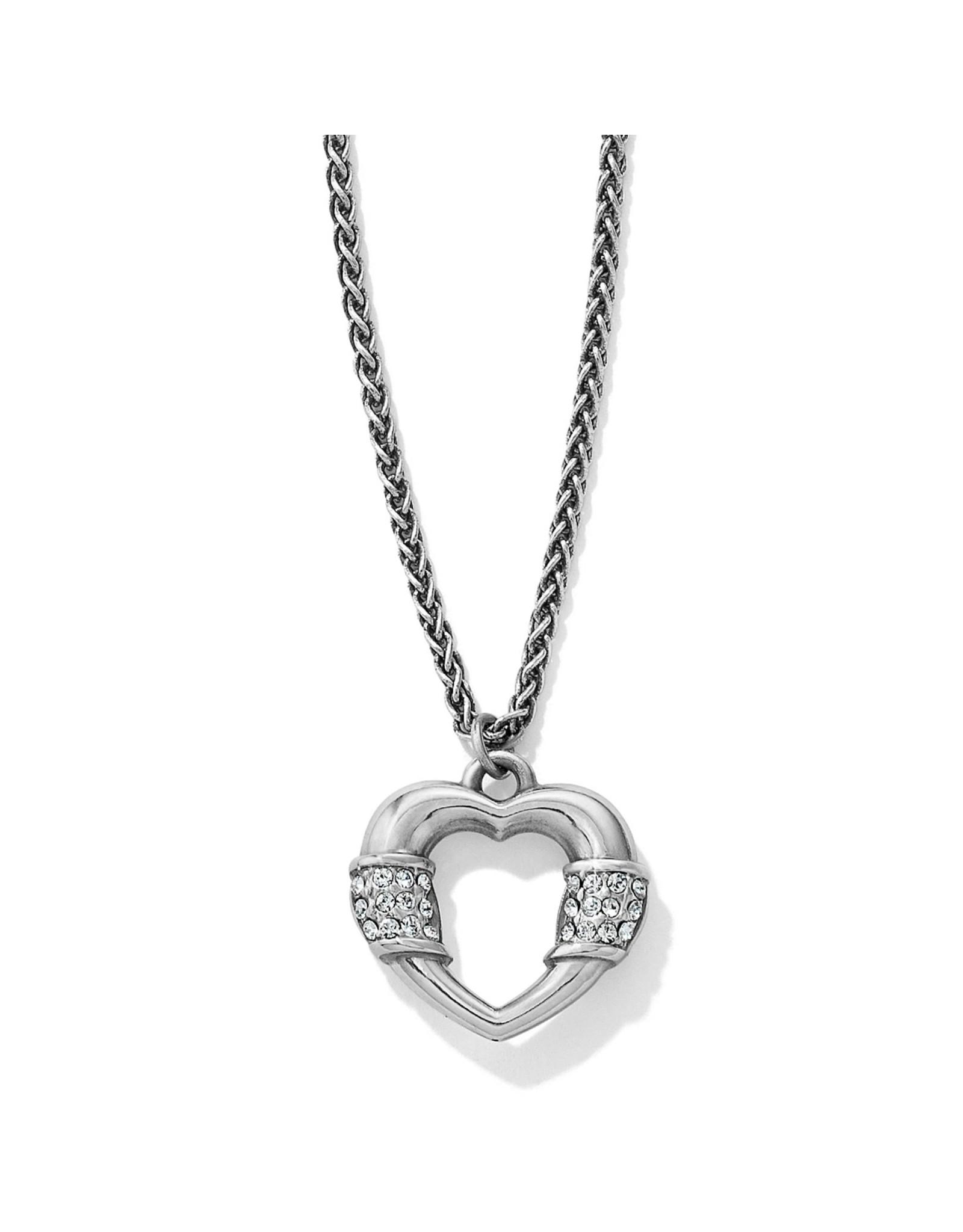 Brighton Meridian Linx Petite Heart Necklace