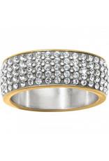Brighton Meridian Ring Two Tone Size 8