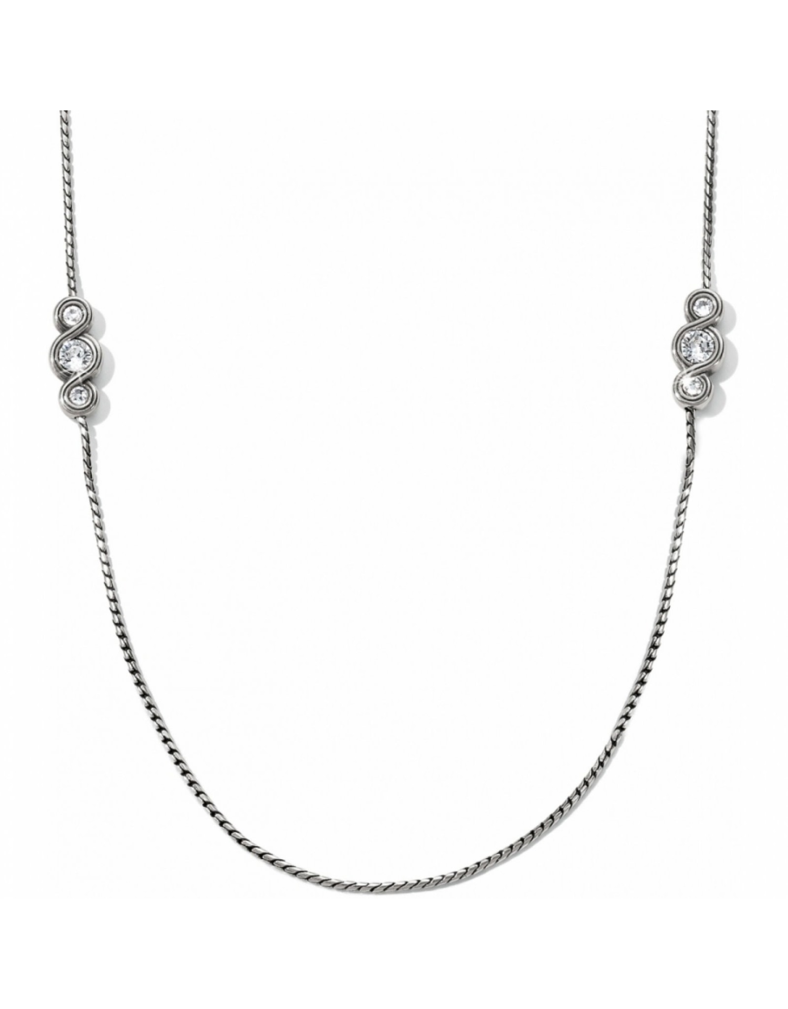 Brighton Infinity Sparkle Long Necklace