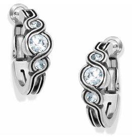 Brighton Infinity Sparkle Hoop Earrings