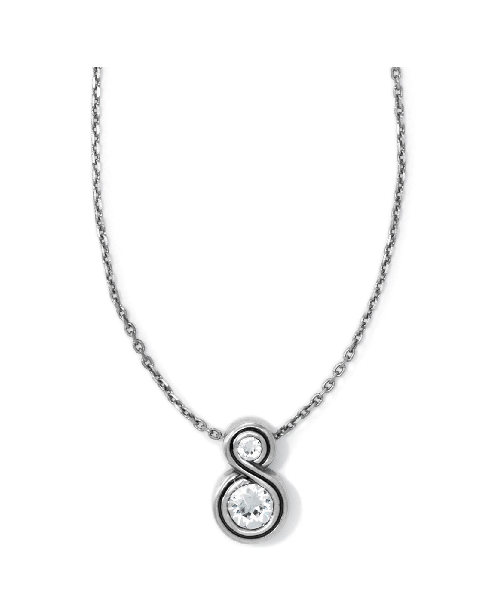 Brighton Infinity Sparkle Petite Necklace