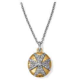 Brighton Anatolia Infinity Reversible Cross Necklace