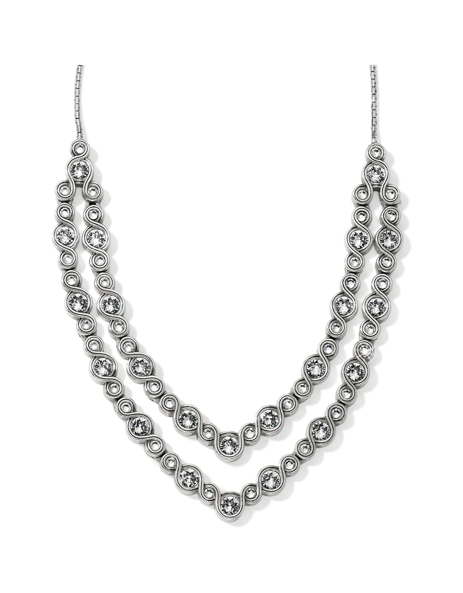Brighton Infinity Sparkle Collar Necklace