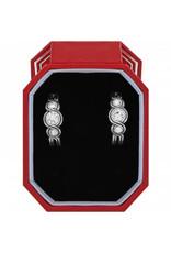 Brighton Infinity Sparkle Hoop Earrings Gift Box