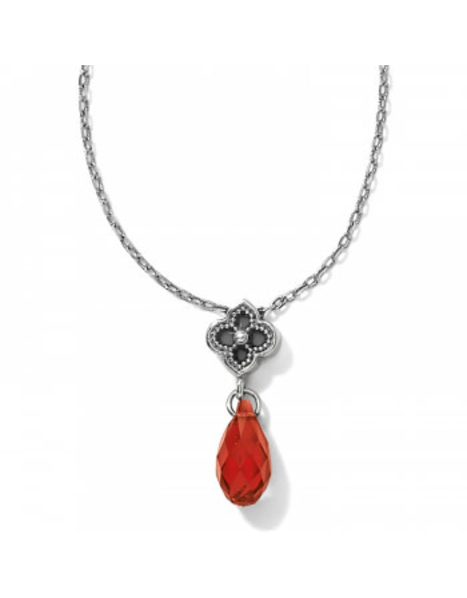 Brighton Toledo Alto Scarlet Briolette Necklace