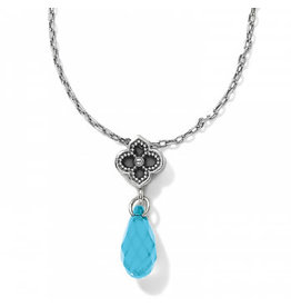 Brighton Toledo Alto Aqua Briolette Necklace