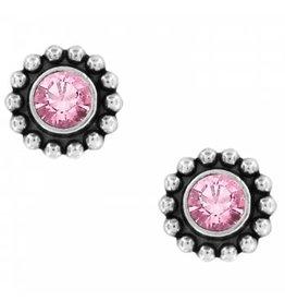 Brighton Twinkle Mini Post Rose Earrings