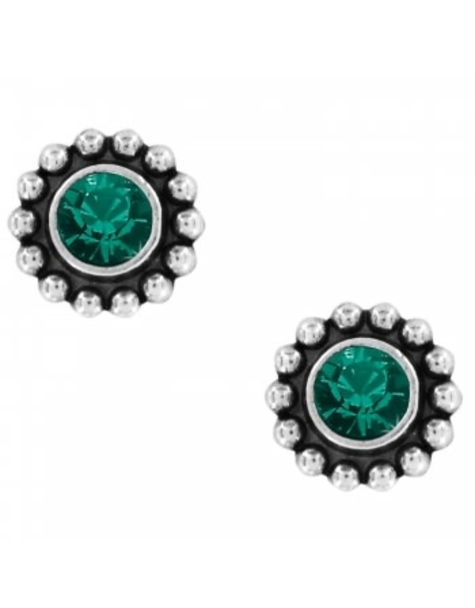 Brighton Twinkle Mini Post Earrings Emerald