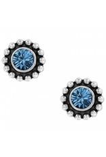 Brighton Twinkle Mini Post Sapphire Earrings