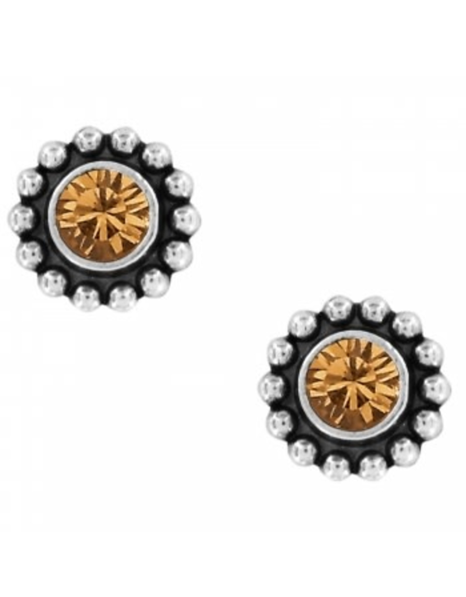 Brighton Twinkle Mini Post Topaz Earrings