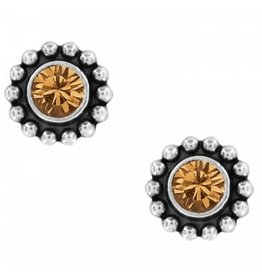 Brighton Twinkle Mini Post Topaz Earrings
