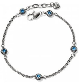 Brighton Twinkle Anklet Sapphire