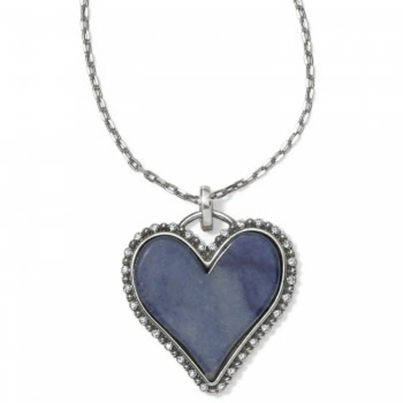 Brighton Twinkle Amor Necklace Blue Quartz