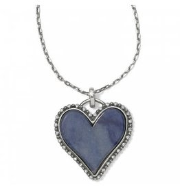 Brighton Twinkle Amor Necklace Blue Quartz