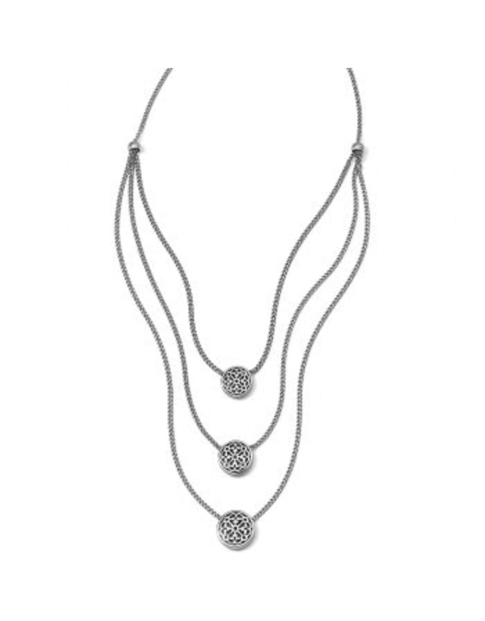 Brighton Ferrara Trio Layer Necklace