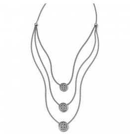 Brighton Ferrara Trio Layer Necklace