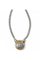 Brighton Ferrara Two Tone Short Necklace