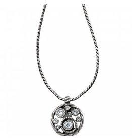Brighton Halo Badge Clip Necklace