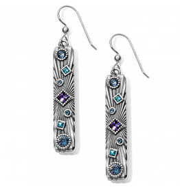 Brighton Halo Rays Bar French Wire Earrings