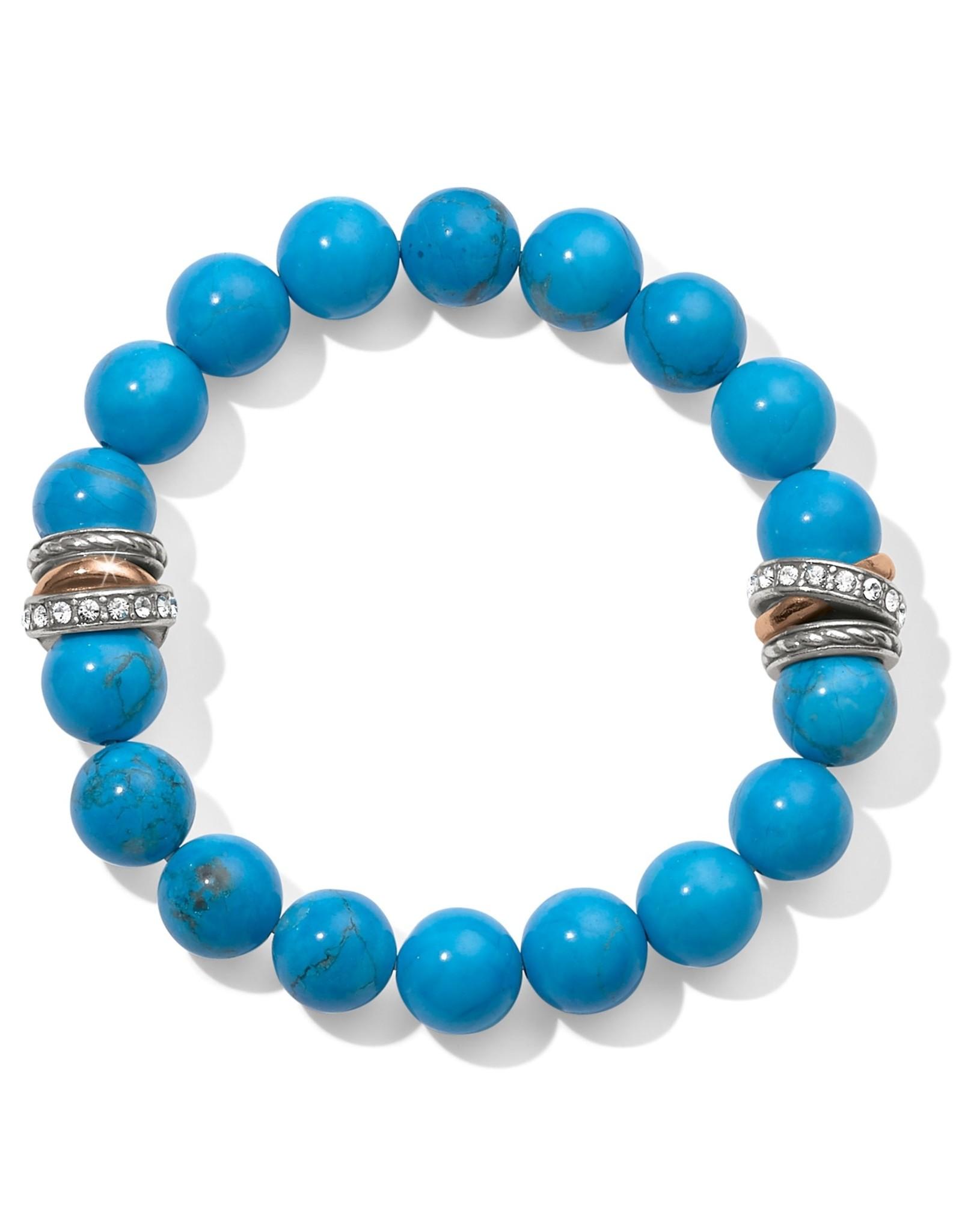 Brighton Neptunes Rings Turquoise Stretch Bracelet