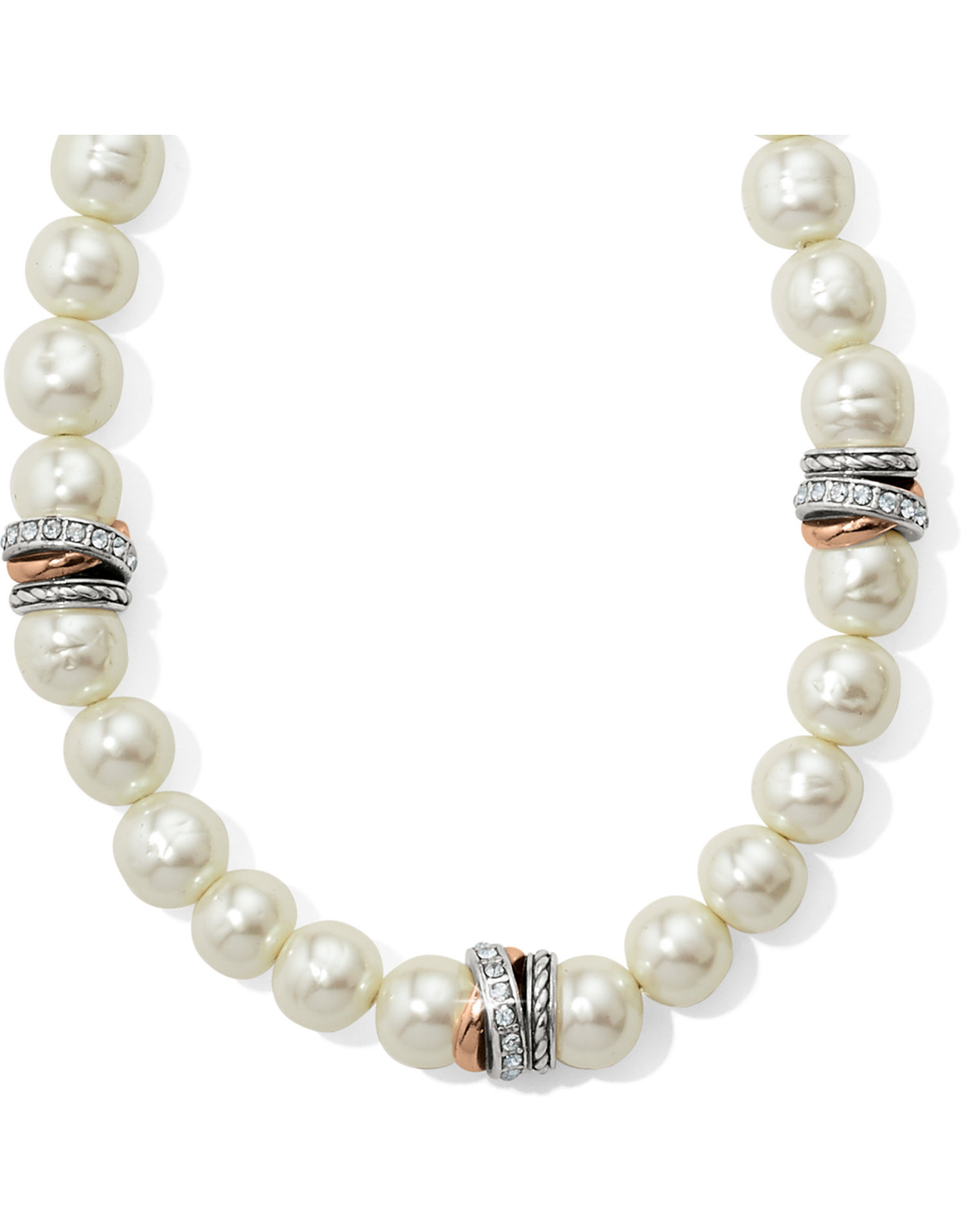 Brighton Neptunes Rings Pearl Short Necklace